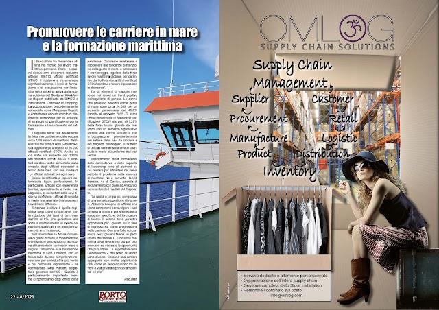 AGOSTO 2021 PAG. 22 - Promuovere le carriere in mare e la formazione marittima