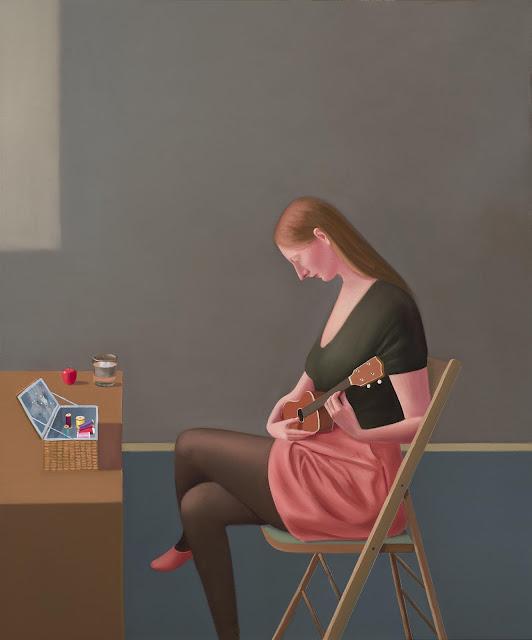 Prudence Flint, pinturas, imagenes de soledad femenina bonitas, chidas de arte inspirador, mujer, musica,