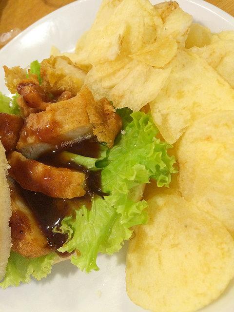 J.CO Katsu Sandwich