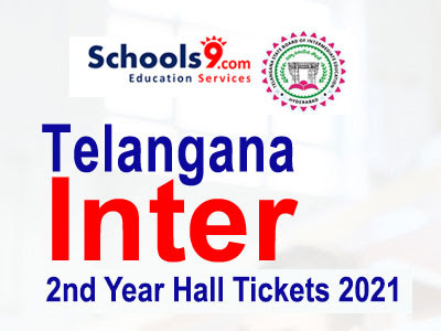 TS Inter 2nd Year Hall tickets 2021
