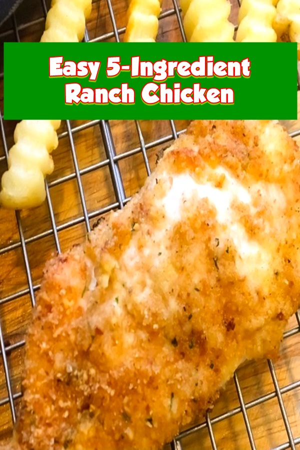 #Easy 5 #Ingredient #Ranch #Chicken