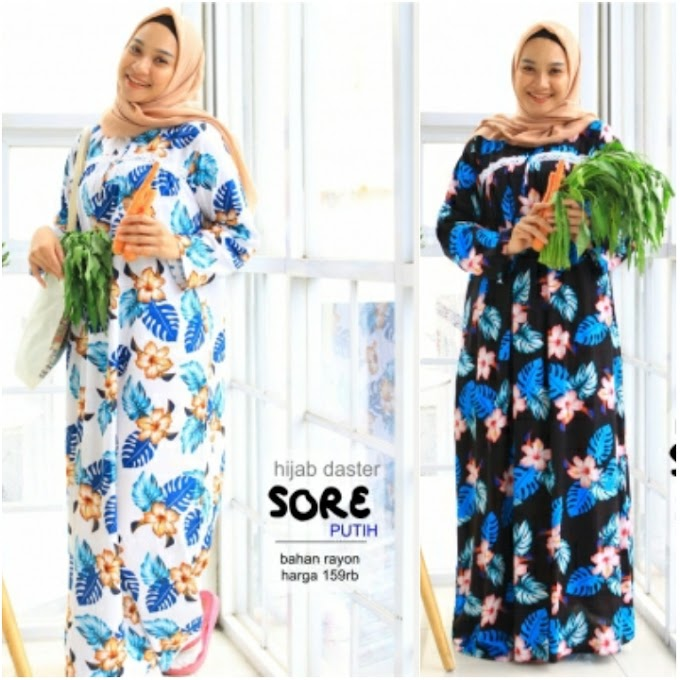 HIJAB DASTER SORE by SIKCLOTHING