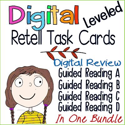 retell literacy centers