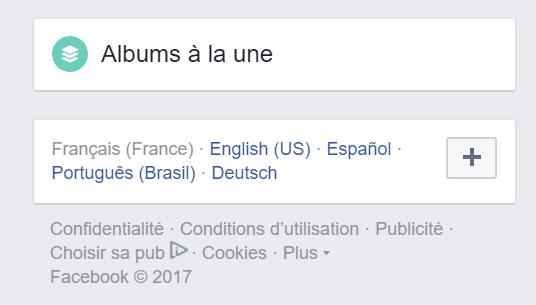 Facebook Albums A La Une Ou Comment Ajouter Un Album Public A Son