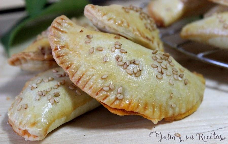 Empanadillas de atún con masa casera