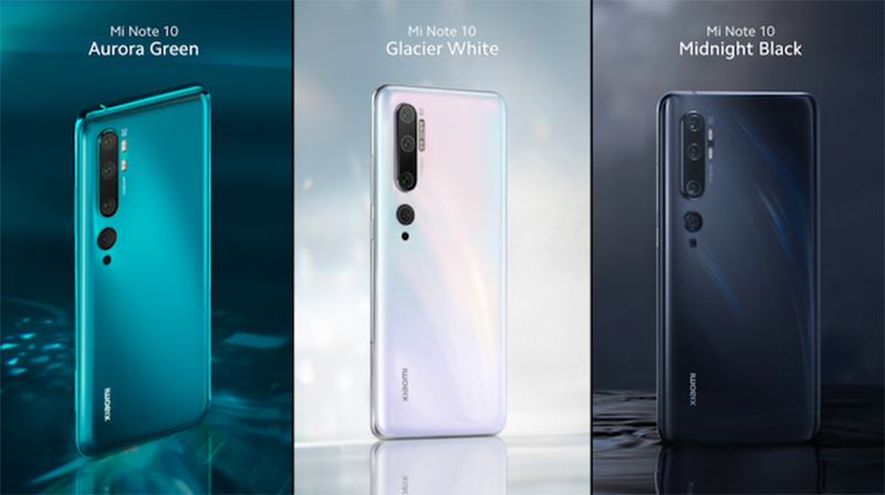 Xiaomi Mi Note 10 arrives in the Philippines, the first with 108MP penta-cam