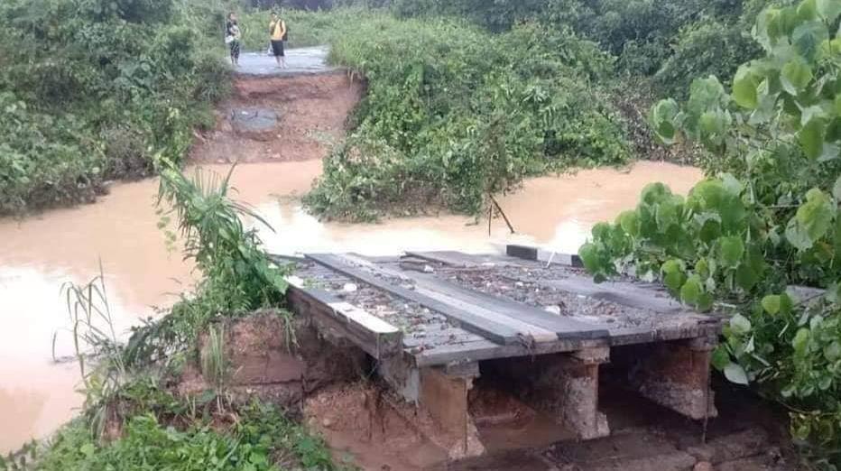 Jambatan Runtuh Pitas Sabah