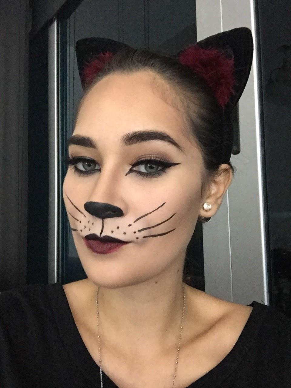 80df6ccd4 ... mi primer maquillaje de estas fechas fuera un gato, técnicamente el  segundo, ya que si me siguen en Instagram, habrán visto el primer gato que  recree.