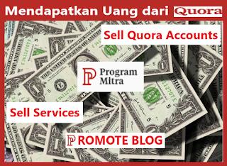 4 Cara Mendapatkan Uang dari Quora Part 2