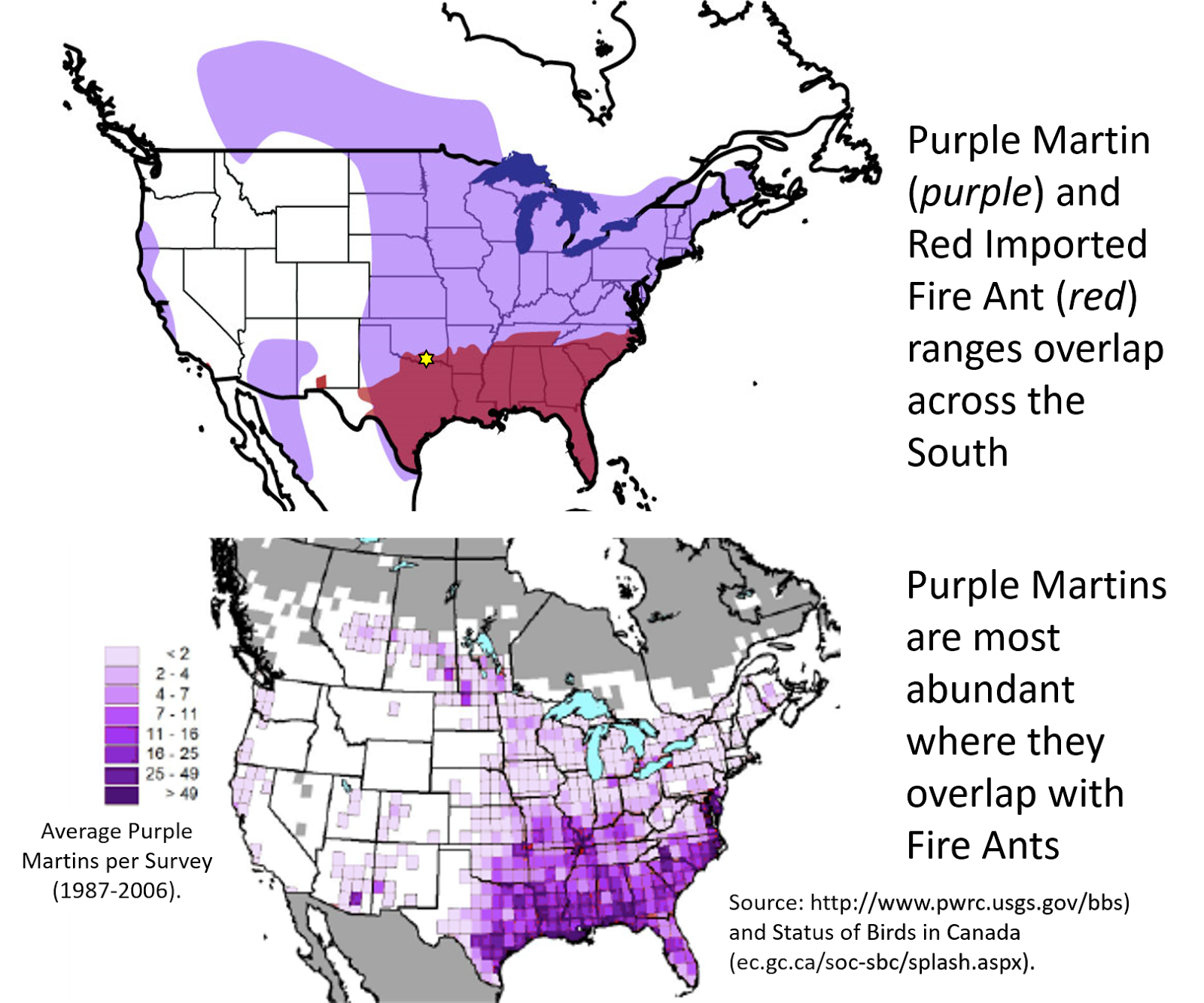 Marine To Myrmecologist Do Fire Ants Benefit Native Birds - Map of where fire ants are found in the us