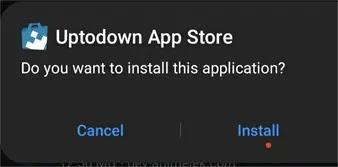 تثبيت برنامج uptodown