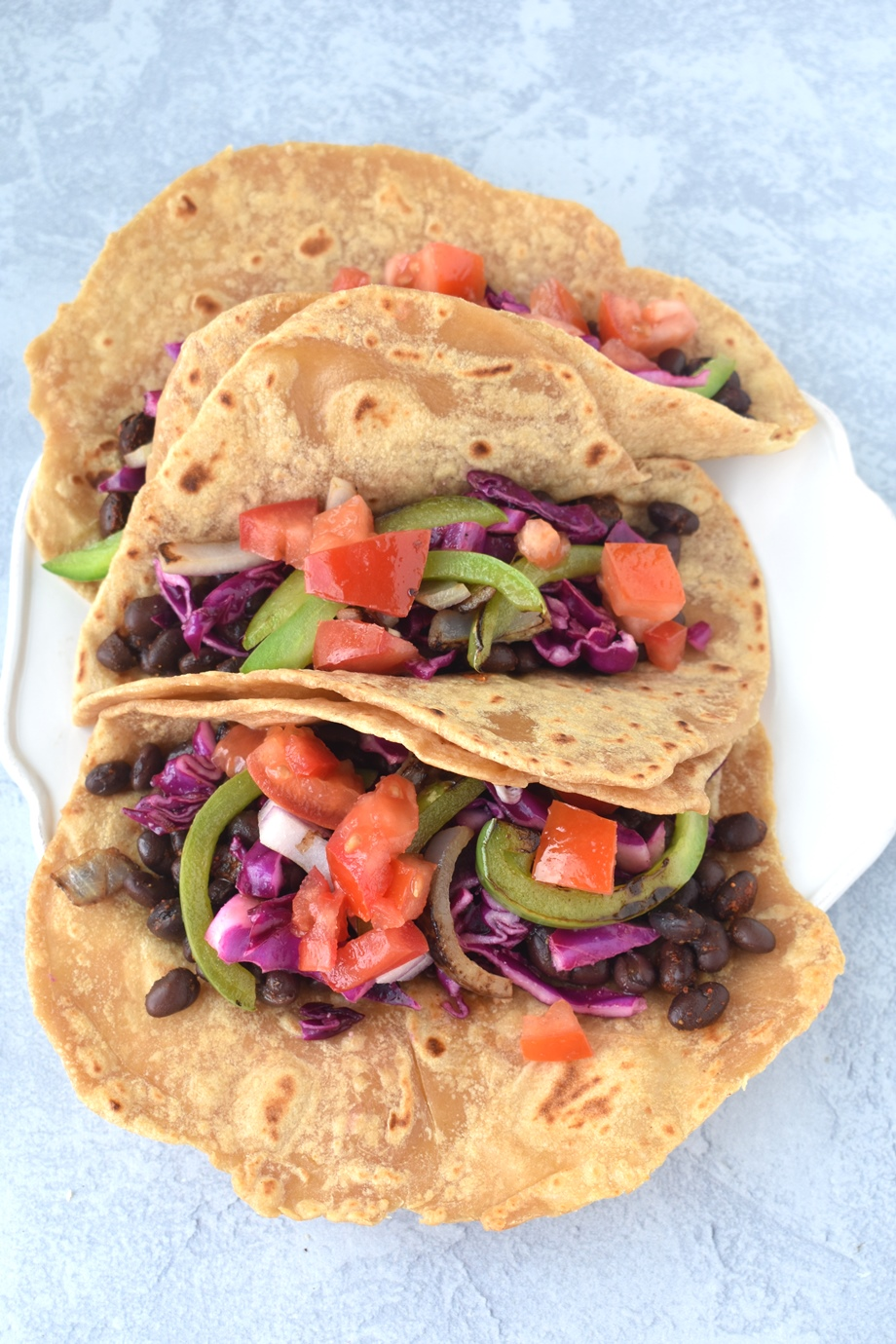 Easy Whole-Wheat Tortillas tacos