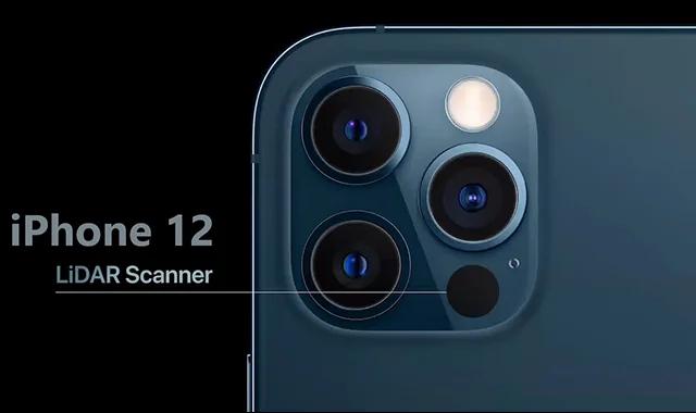 Que fait le scanner LiDAR dans l'iPhone 12?