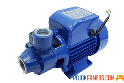 Why is Sanyo Attached as a Water Pump?