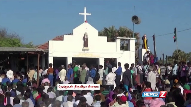 The festival at Kachchtivu church postponed owing to Jayalilitha's death