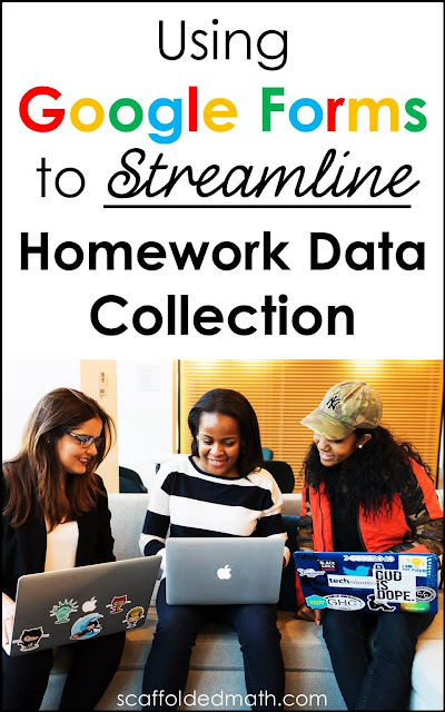 Are you drowning in math homework assignments to grade and wish there was a better way? There is with Google Forms! In this post, math teacher Danielle Fulbright teaches us all how to use Google Forms to streamline the homework data collection process.