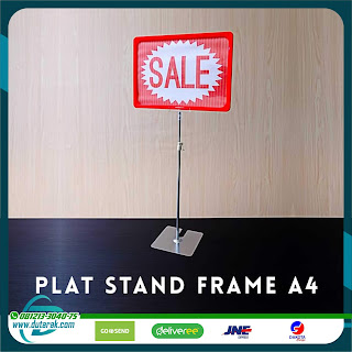 Standing Display POP Frame A4