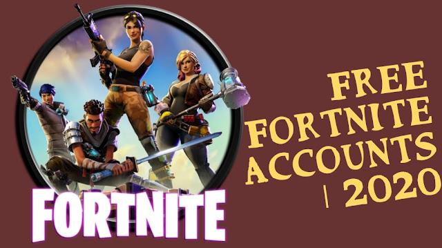 أفضل طرق الحصول علي حسابات فورت نايت مجاني | Fortnite