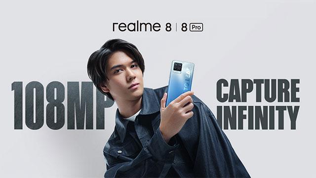 realme 8 pro capture infinity