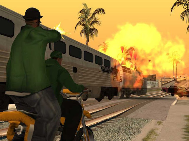 GTA San Andreas Highly Compressed 600Mb PC Game Free Download