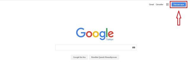 Google Hesabı Açmak