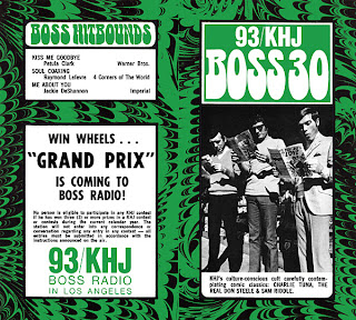 KHJ Boss 30 No. 135 - Charlie Tuna, The Real Don Steele, Sam Riddle