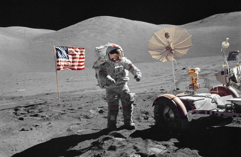 Pendaratan Manusia di Bulan Ternyata Hoax? Ini 5 Alasannya