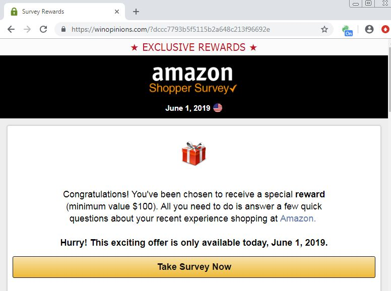 SMS Phish? Amazon Reward! - Security Boulevard