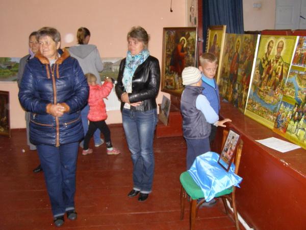 Яскраві змістовні картини та цікаві розповіді митця не залишили байдужими нікого з відвідувачів.