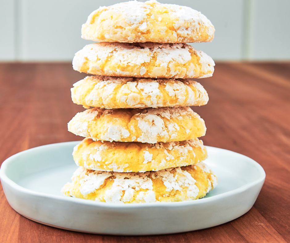 Lemon Butter Cookies - food-drink-recipes.com