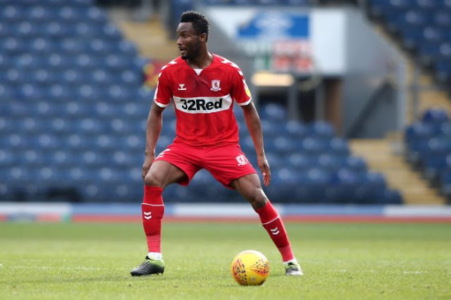 Middlesbrough call Mikel Obi 'a Rolls Royce of a midfielder' and fans sing his praises