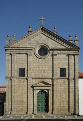 Igreja de São Paulo Braga, Portugal.