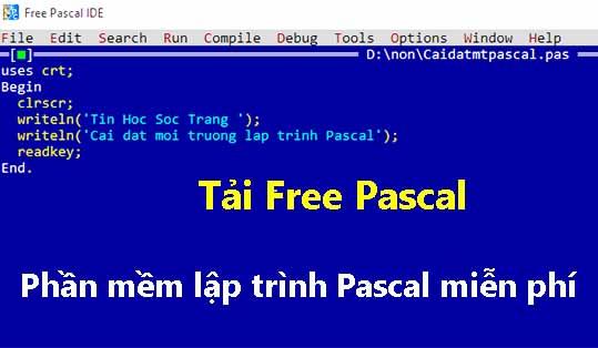 Download Free Pascal - Phần mềm lập trình Pascal miễn phí