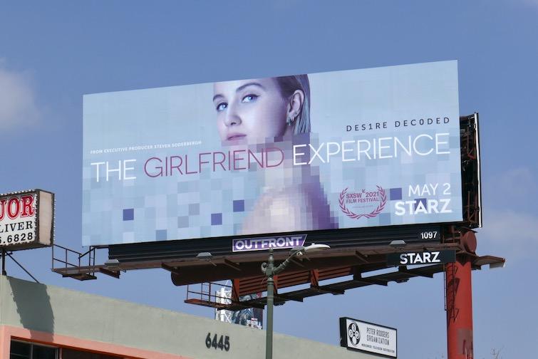 Girlfriend Experience s3 Starz billboard