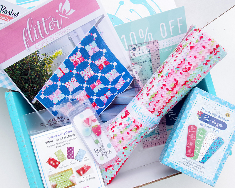 Red Pepper Quilts: The Fat Quarter Shop Sew Sampler Box and