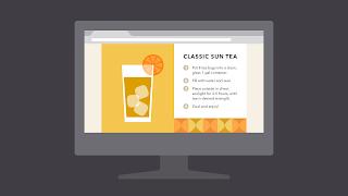 Dasar-dasar Desain Grafis contoh  shape atau bentuk dalam website