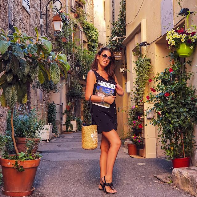 Mougins, Costa Azzurra. Alessia Siena