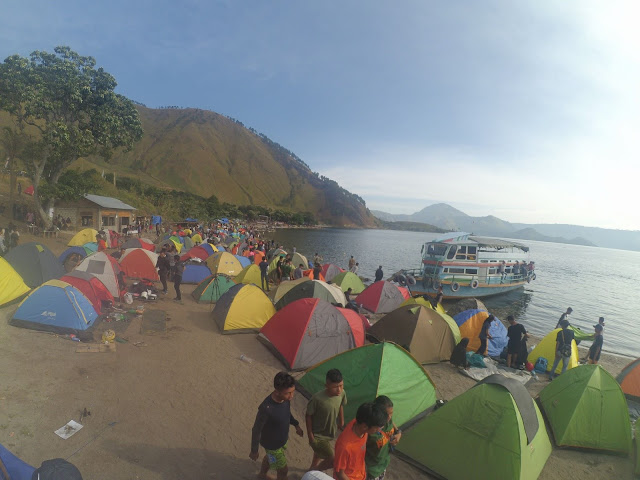 Akhir Juni Ini, Ada Festival 1000 Tenda Kadera di Danau Toba