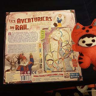 Les Aventuriers du Rail Scandinavie verso