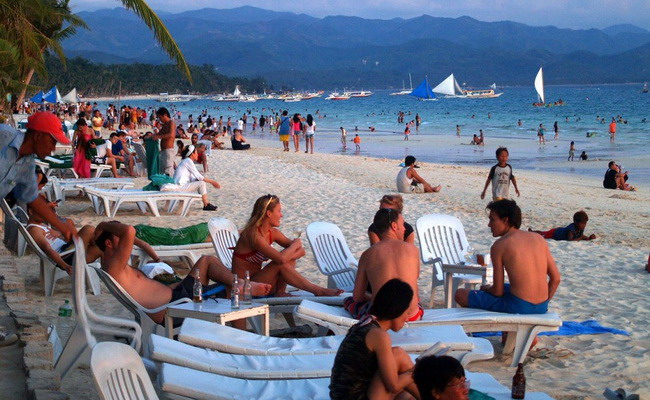 Xvlor Boracay is small island water game center in Philippines