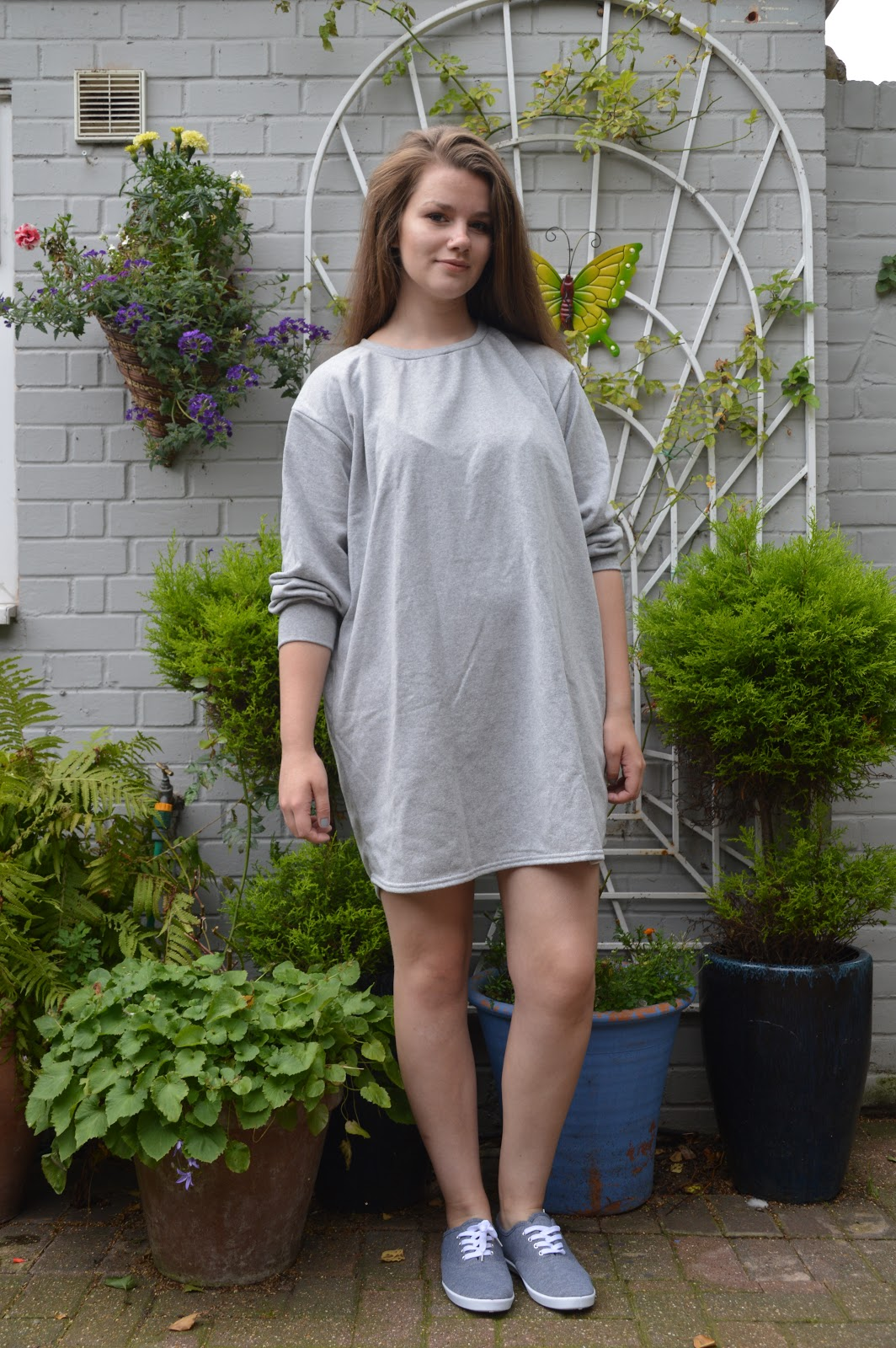 cd2447d39f This looks like a jumper right  Well it is! The Sianna Grey Oversized  Sweater Dress is exactly what you need in your wardrobe throughout every  season.