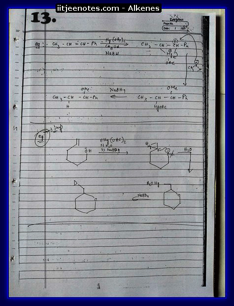 Alkenes Notes3