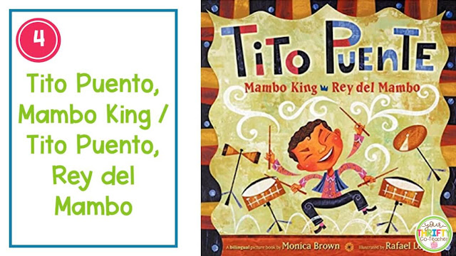 A list of Books to share with your upper elementary students during Hispanic Heritage Month.