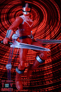 Power Rangers Lightning Collection Time Force Red Ranger 02