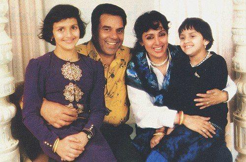 BOLLYWOOD ACTRESS: hema malini and dharmendra family ...