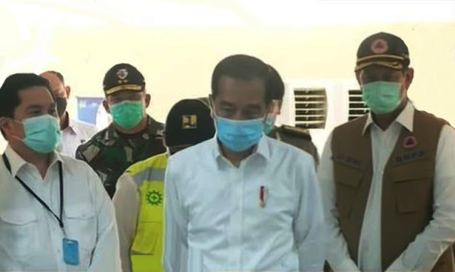 Jokowi Tetapkan Status Darurat Sipil