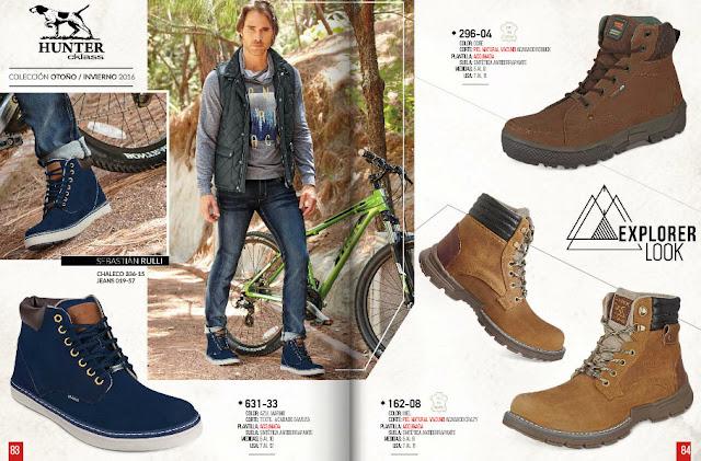 Cklass catalogo zapatos caballeros otoño invierno 2016