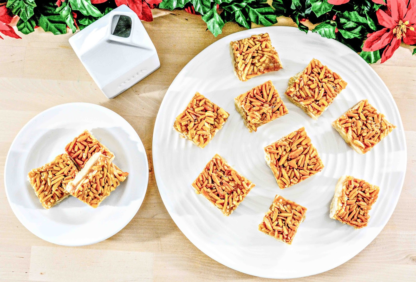 Almond Caramel Bar Cookies