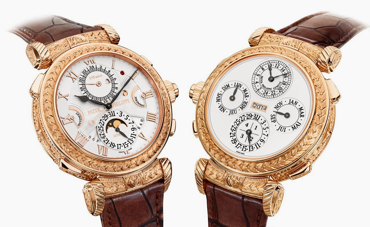 Patek philippe grandmaster chime ref 5175 time and watches for Patek philippe