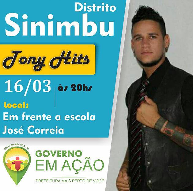 Tony Hits encerra 1ª edição do Governo em Ação no Distrito Sinimbu na noite desta sexta-feira 16